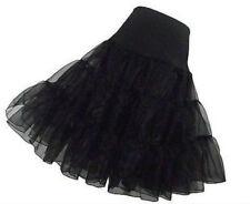 Plus Size Black Petticoat Crinoline Underskirt Bridal Wedding Dress Skirt Slips