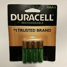 4/pack Duracell AAA Rechargeable Batteries, AAA4 1.2V NiMH