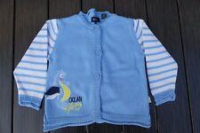 BLUE SEVEN Baby Strickjacke für Mädchen Größe 62