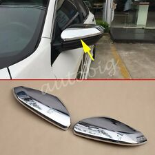 Chrome Side Mirror Cover For Honda Civic 2016 2017 Rear View Trims Accessories