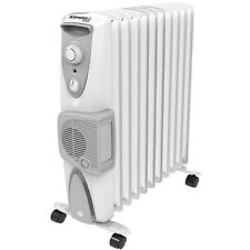 Dimplex 2.4kW Eco Column Heater with Turbo Fan & Thermostat in White OFRC24TFNW