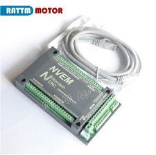 New 4 Axis 200KHz NVEM Ethernet Mach3 Motion Control Card CNC Controller Board
