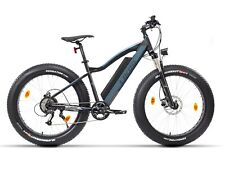 Fitifito Elektrofahrrad FT26 Fatbike  E-Bike Pedelec 48V gefedert blau Beachbike