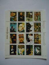 Oman 1973 Minisheet Famous Men Franked unmounted