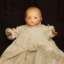 Really Cute Antique Am Dreambaby Bisque Doll w/ Celluloid Hands