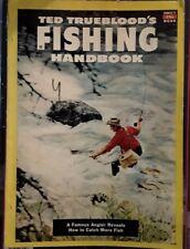 RARE 1952 TED TRUEBLOOD's Fishing Handbook
