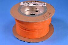 "Techflex 20' FLEXO PET Expandable Braided Sleeving, Orange 1-1/4"" Conduit Electr"