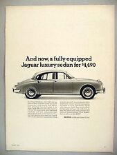 Jaguar 340 Sedan PRINT AD - 1967