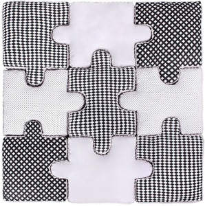 Lulando Puzzle Cushion Set of 9, Soft Puzzle Play Mat Game Mat to Frolic And for