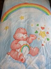 Vintage Care Bears Single Duvet Valance Sheet Original Quilt Cover