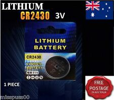 CR2430 3V LITHIUM Coin Button Cell Battery - AU & SA Seller - Fast Postage