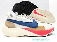 Nike Moon Racer QS Mens Sail White Blue Running Training Gym BV7779-100 NIB