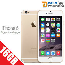 New Sealed Box iPhone 6 Gold 16GB 4G LTE Unlocked Apple Smartphone Hot Phone