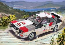Canvas 1983 Audi Quattro A1 #3 Mikkola / Hertz Portugal by Toon Nagtegaal (LE)