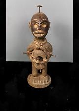 Old Tribal Bakongo Nail Fetish Figure     --- Congo