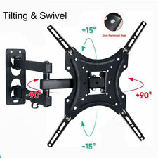 TV Wall Mount Bracket Full Motion Swivel Tilt LCD LED 17 32 40 43 47 50 55 Inch