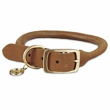 Bond & Co Pink Diamond Leather Small Dog Collar 12 - 15 Inches