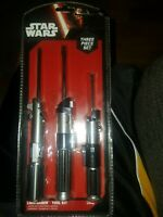 Star Wars 3 Piece Light Saber Tool Kit
