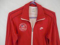 Nike Track Field USA Olympic Trials Sweatshirt Jacket Eugene USATF Sz XS N98