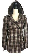 Roxy Fall Winter Coat Jacket Long Sleeve Hoodie Size M