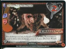 Buffy CCG TCG Angels Curse Limited Edition Card #4 Death Stalks the Dream