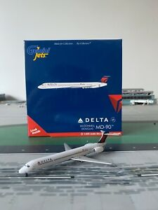 RARE Delta Airlines MD90 GEMINI JETS 1:400