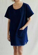 URBAN RENEWAL Urban Outfiters NWT $74 Dark Denim Tunic Dress Women's Size Small