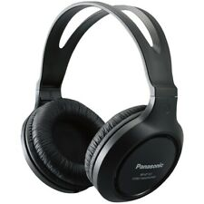 Panasonic Rp-Ht161-K Full-Size Over-Ear Wired Long-Cord Headphones PANRPHT161K