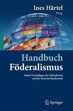 Handbuch Föderalismus - Föderalismus als demokratische Rechtsordnung *Händler*