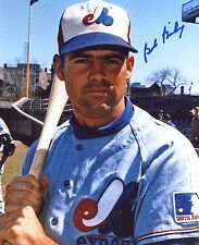 BOB  BAILEY   MONTREAL  EXPOS    SIGNED 8X10  PHOTO