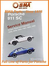 NEW Porsche 911 SC Coupe Targa Cabriolet 78-83 Bentley Manual  # P983 PR8009000