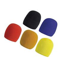 5 Bonnettes Anti Vent Pour Micro Diamétre 60 mm Hauteur 70 mm 5 Couleurs