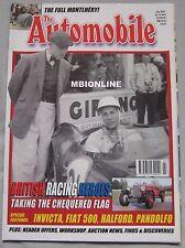 The Automobile magazine 07/2001 featuring Invicta, Fiat 500