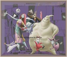 "Disney's  Nightmare Before Christmas ""Group Photo"" Cross Stitch Pattern CD"