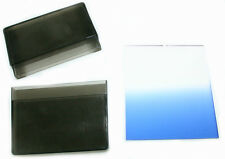 Graduated gradual BLUE square filter for Cokin P series system, from US seller!