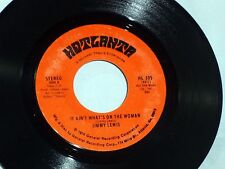 Jimmy Lewis: It Ain't What's on the Woman / There Ain't No Man.. [Unplayed Copy]