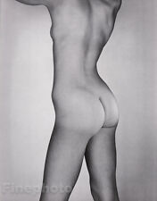 c.1953/81 Vintage 16x20 FEMALE NUDE Butt Duotone Photo Art By GEORGE PLATT LYNES