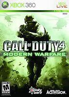 Call of Duty Modern Warfare Xbox 360/one Game Disc Only  26j Cod 4 Mw 1