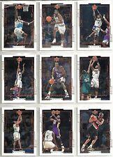 """1999-00 Upper Deck 10-card """"Biographics"""" Insert Card Lot Chris Webber Tim Duncan"""