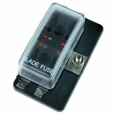 Standard Blade 4 Fuse Holder with LED Status Indicator 100A SCI R3-76-01-3L104