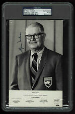 BYRON NELSON  Signed  5 X 8 PHOTOGRAPH AUTOGRAPHED CERTIFIED PSA/DNA