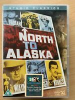 North to Alaska DVD 1960 Wester Classic Film Movie w/ John Wayne and Capucine