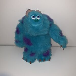 Disney Pixar Monsters Inc Sulley Plush Stuffed Animal 2001 Hasbro
