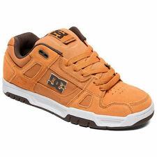 DC Shoes Homme Cerf Bas Haut Chaussures Baskets Marron/Marron/Blanc Skateboard