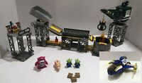 LEGO Toy Story LOT: Trash Compactor Escape Set 7596 + Buzz's Command Ship 7593