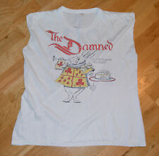 RaRe *1986 THE DAMNED* vintage punk-rock concert t-shirt (L) 80's New Model Army