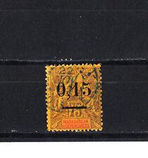 Madagascar  colonie Francais  de 1902  0,15 sur 75c violet  num: 54  obl