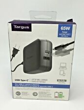 Targus 65W Total USB Type-C 4ft. Laptop Wall Charger