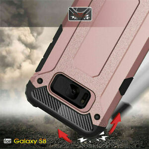 Hard tough Armor strong case cover for Samsung S21 S20 S10 - Shockproof Case