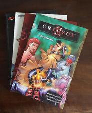 CRIMSON 1 - 4 komplette Serie, 4 Paperbacks, Humberto Ramos, Deutsch, Zustand 1